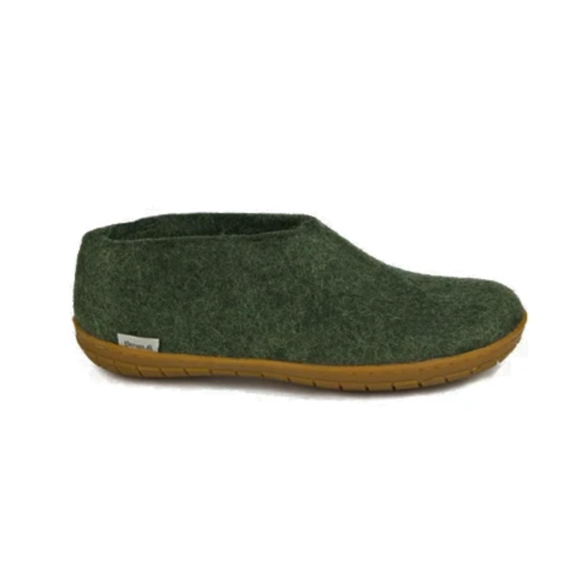 Glerups Glerups Shoe (rubber sole) - Forest