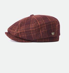 Brixton Brixton Brood Baggy Snap Cap - Crimson