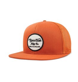 Brixton Brixton Wheeler Mesh Cap - Burnt Orange