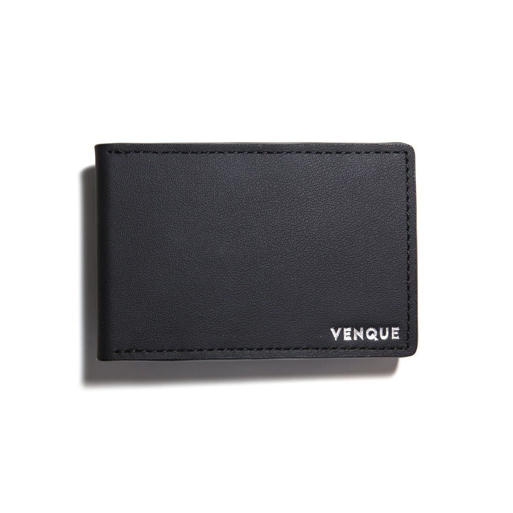 Venque Venque Slim Wallet - Black