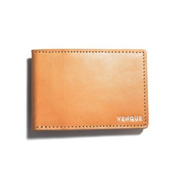 Venque Venque Slim Wallet - Brown