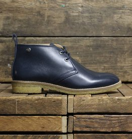 Tape Tape Boot - Navy/Brown