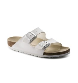 Birkenstock Birkenstock Arizona Birko-Flor (Women - Narrow) - White
