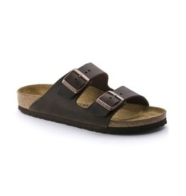 Birkenstock Birkenstock Arizona Oiled Leather (Women - Narrow) - Havana