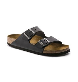 Birkenstock Birkenstock Arizona Oiled Leather (Women - Narrow) - Black