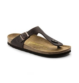 Birkenstock Birkenstock Gizeh Oiled Leather (Women - Regular) - Habana