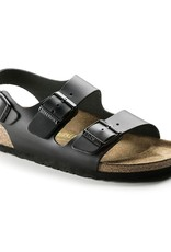 Birkenstock Birkenstock Milano Leather (Men - Regular) - Black