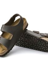 Birkenstock Birkenstock Milano Leather (Men - Regular) - Dark Brown