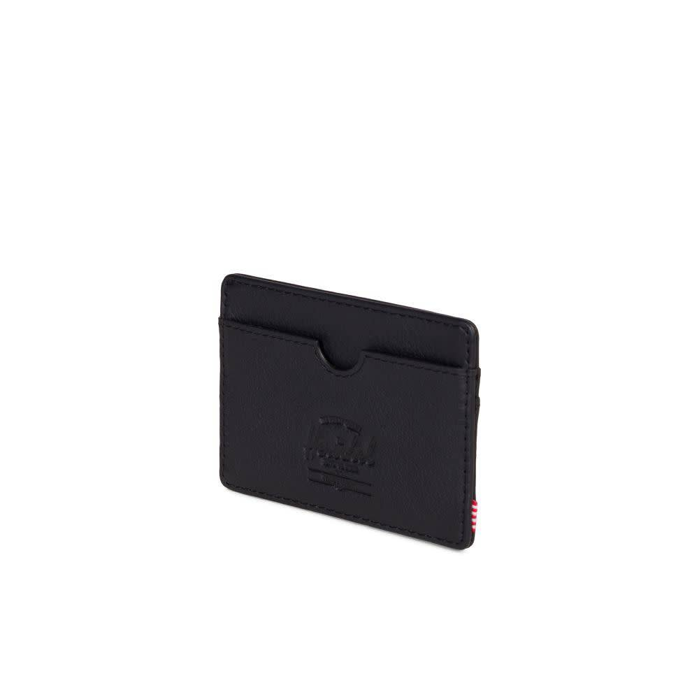 Herschel Supply Co. Herschel Charlie Wallet - Black Pebbled Leather