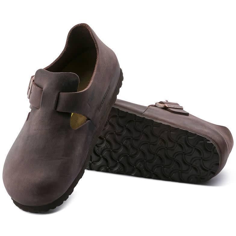 Birkenstock Birkenstock London Oiled Leather (Regular) - Habana
