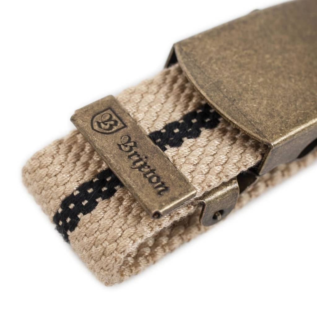 Brixton Brixton Edwards Belt - Khaki/Black