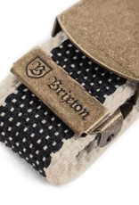 Brixton Brixton Edwards Belt - Black/Cream