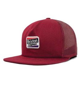 Brixton Brixton Worden Mesh Cap - Burgundy