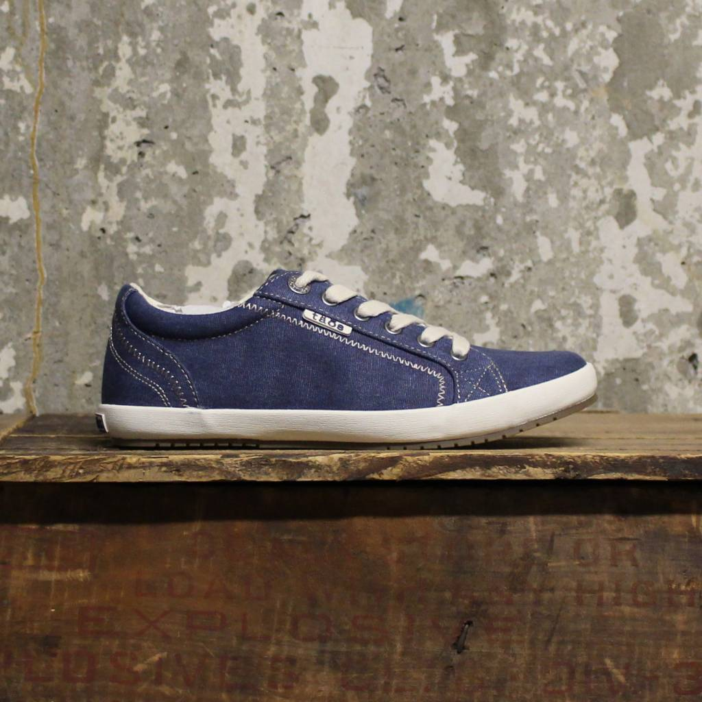 Täōs Täōs Star - Blue Washed Canvas