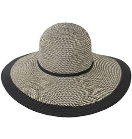 Kooringal Kooringal Ladies Wide Brim - Dahlia - Black