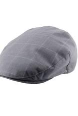 Kooringal Kooringal Mens Driver Cap - Suffolk - Grey
