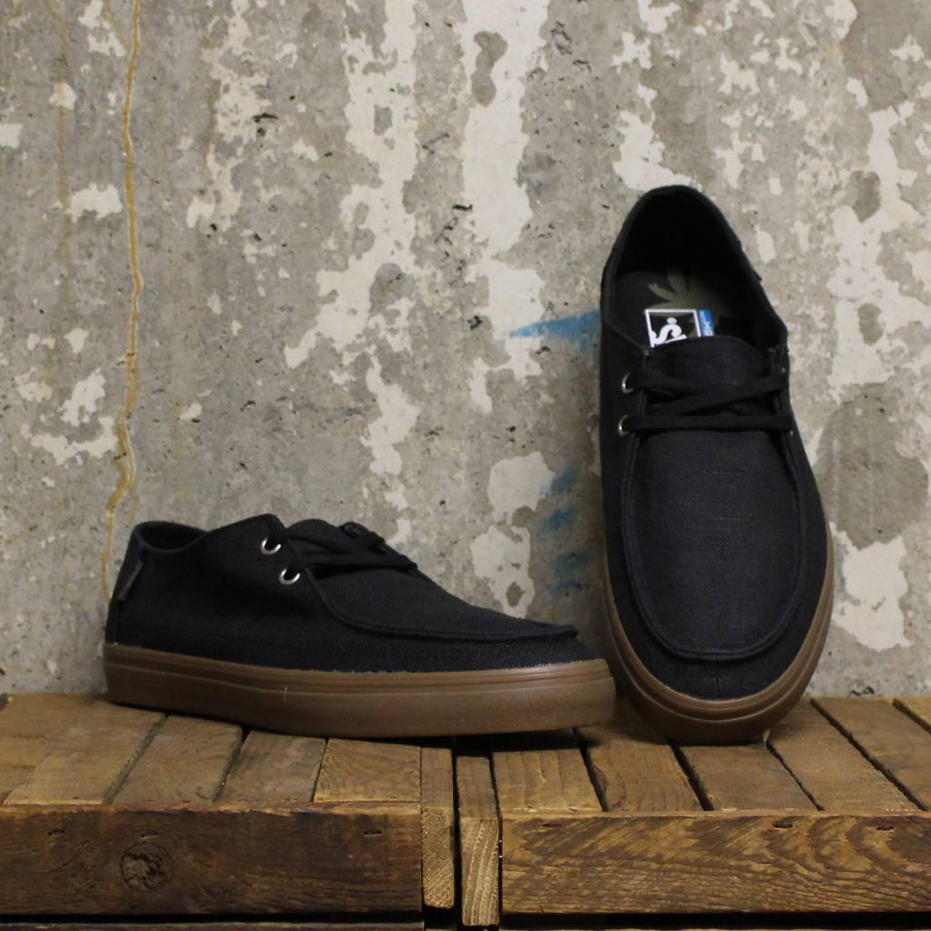 8458b1cae03 Vans Rata Vulc SF - (Hemp) Black Gum - Bottes et Baskets