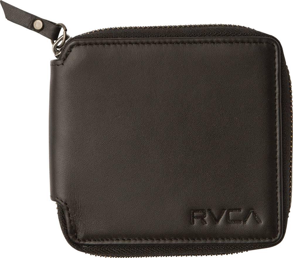 RVCA RVCA Zip Around Wallet - Black