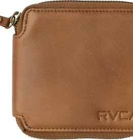RVCA RVCA Zip Around Wallet - Tan