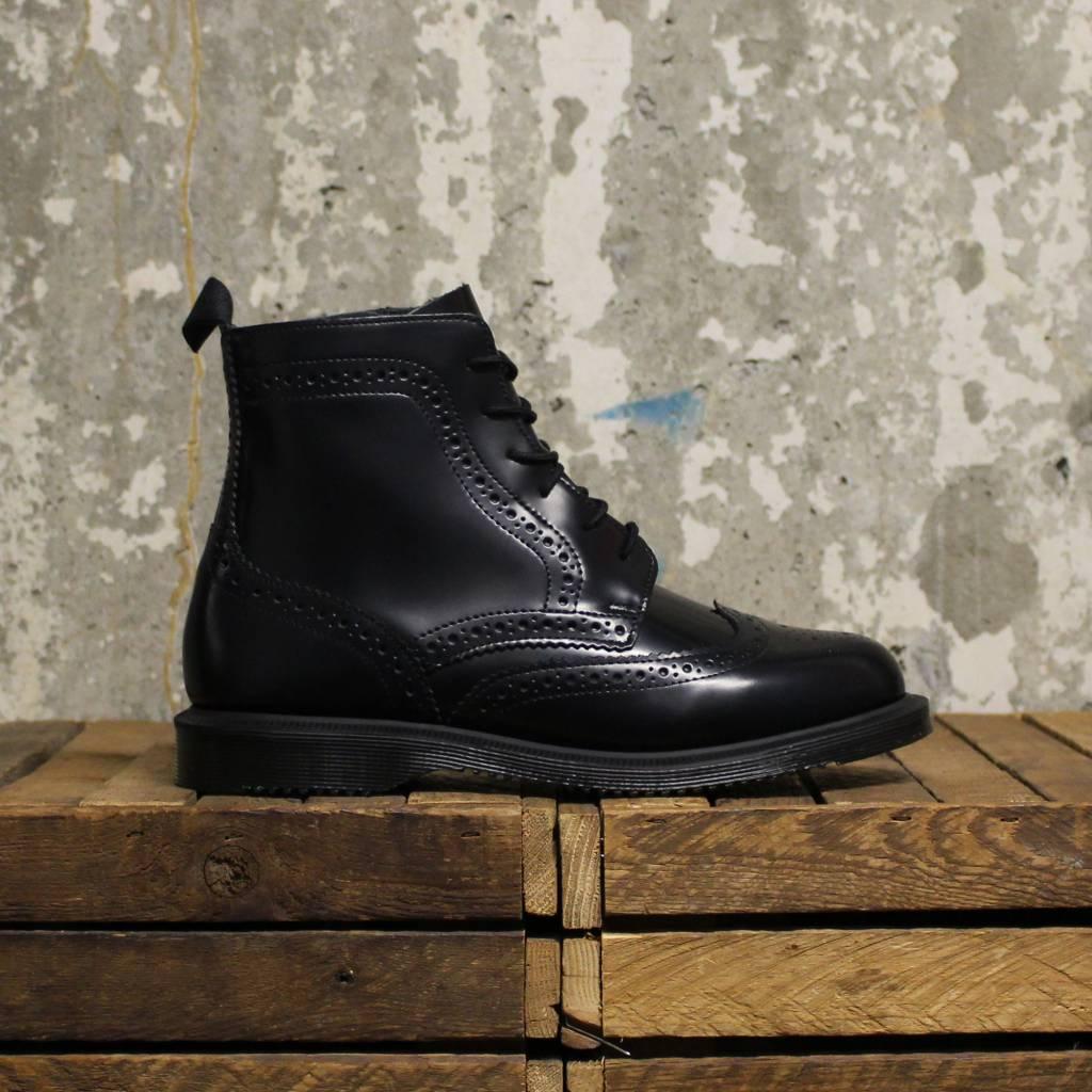 znana marka sklep w Wielkiej Brytanii za kilka dni Dr Martens Delphine (Polished Smooth) - Black