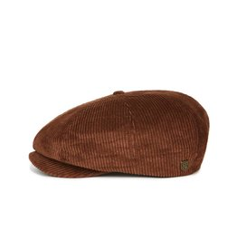 Brixton Brixton Brood Snap Cap - Brown Cord