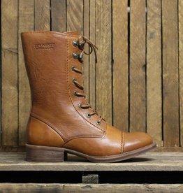 8b7e53171bf9 Ten Points Ten Points Pandora 3 4 avec lacet et glissière - Cognac · Women s  leather boots