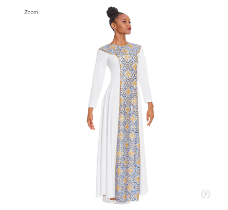 Eurotard Adult Tabernacle Praise Dress 81119