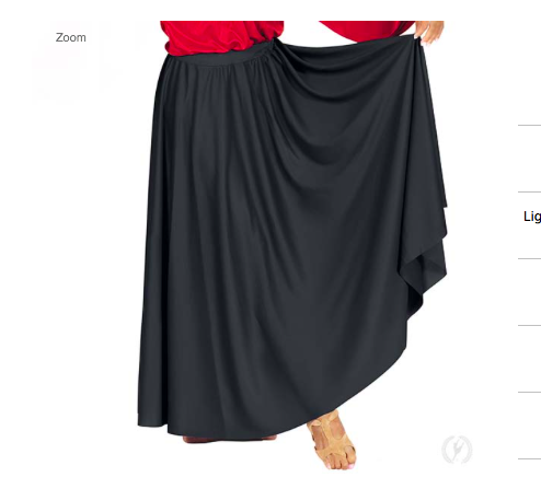 Eurotard Adult Circle Skirt 13778
