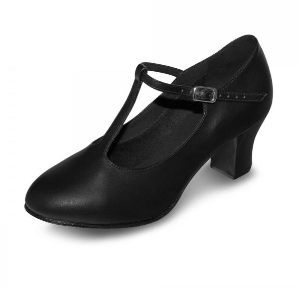 Bloch Roxie T-Strap Character Shoe S0375L