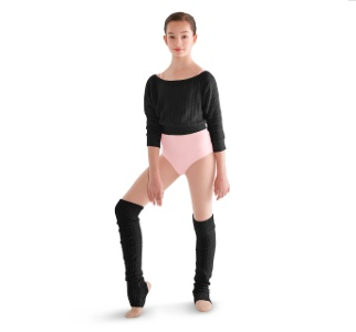 Bloch CW6940 Thigh High Knit Leg Warmers