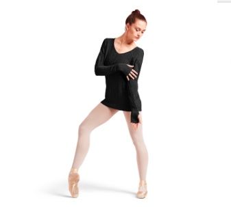 Bloch Z6989 Long Sleeve Sweater