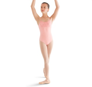 Bloch Flower Back Cami Leotard M445C