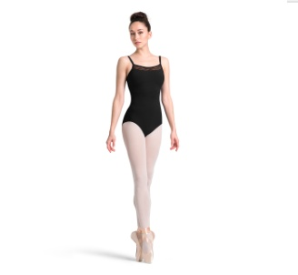 Bloch M2145LM wave mesh Cami leotard