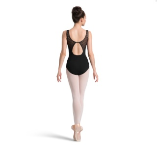 Bloch M3054LM open Back tank leo