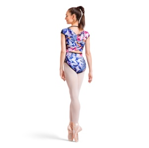 Bloch L1822P Cap Sleeve Leotard