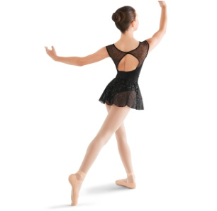 Bloch Bow back cap sleeve Leotard M671C