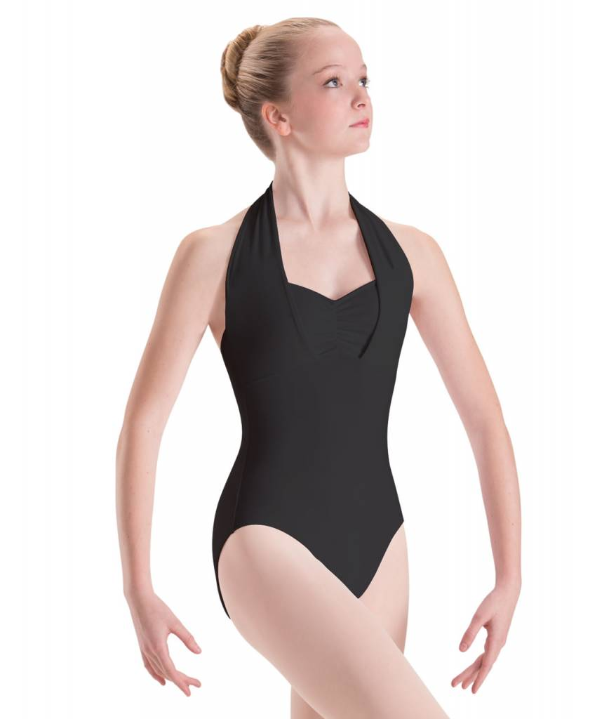 Motionwear MW17 ONLINE ONLY Child Overlap Halter Leotard 2650