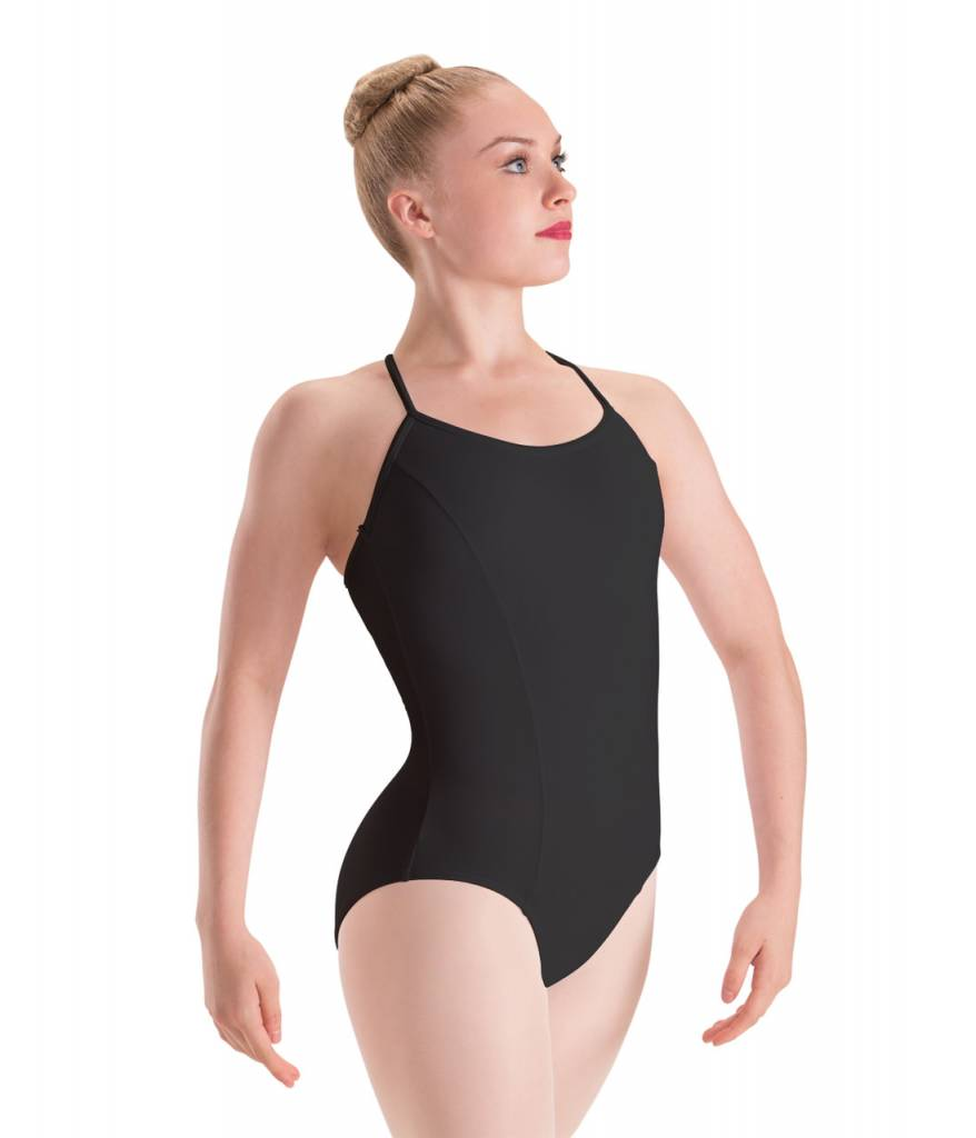 Motionwear MW17 ONLINE ONLY Child Princess Seam, 3-Cross Back Cami Leotard 2680