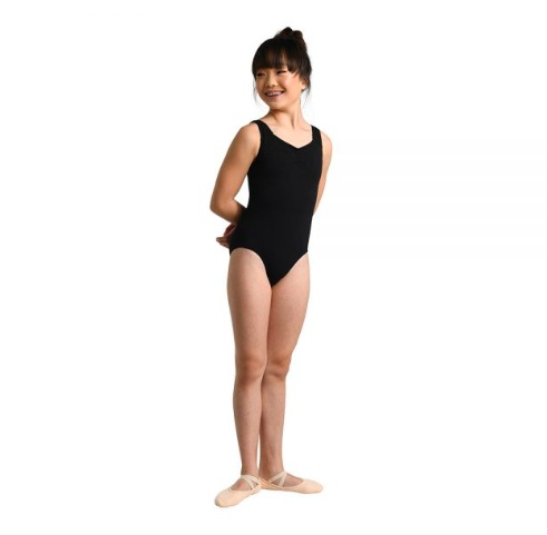 Danshuz Looping Back Strap Leotard 2452C