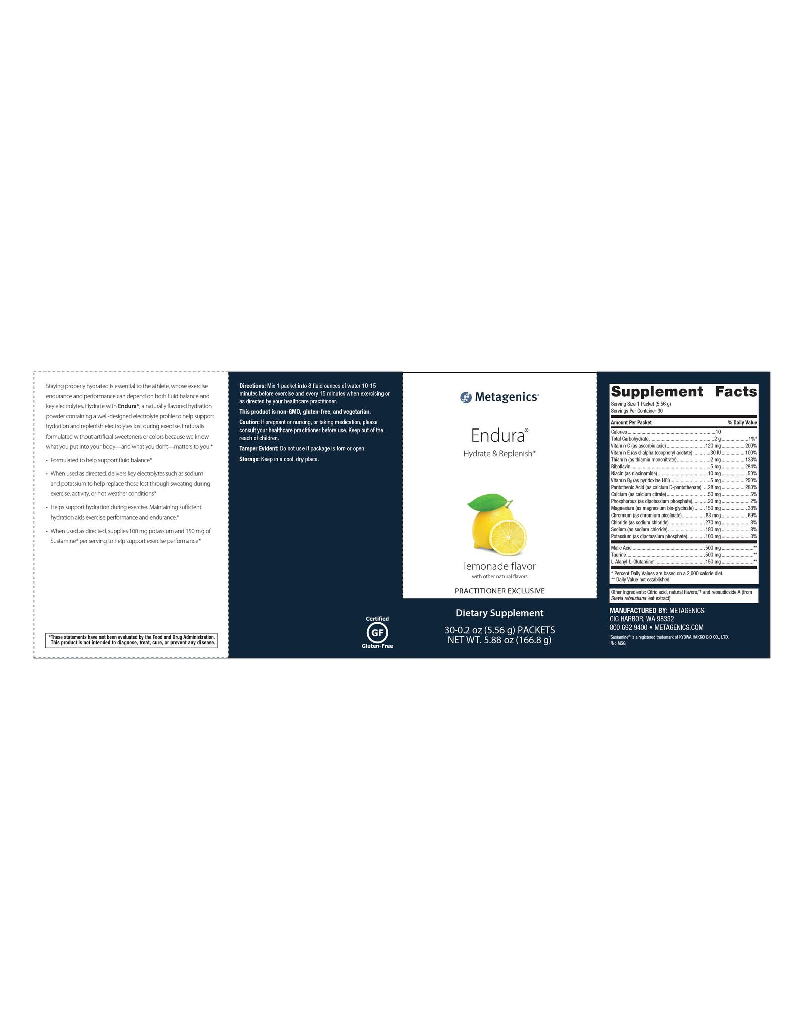 Endura® Lemonade - 30 ct