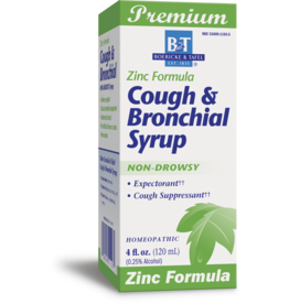 Cough & Bronchial Syrup, ZINC formula by B&T®