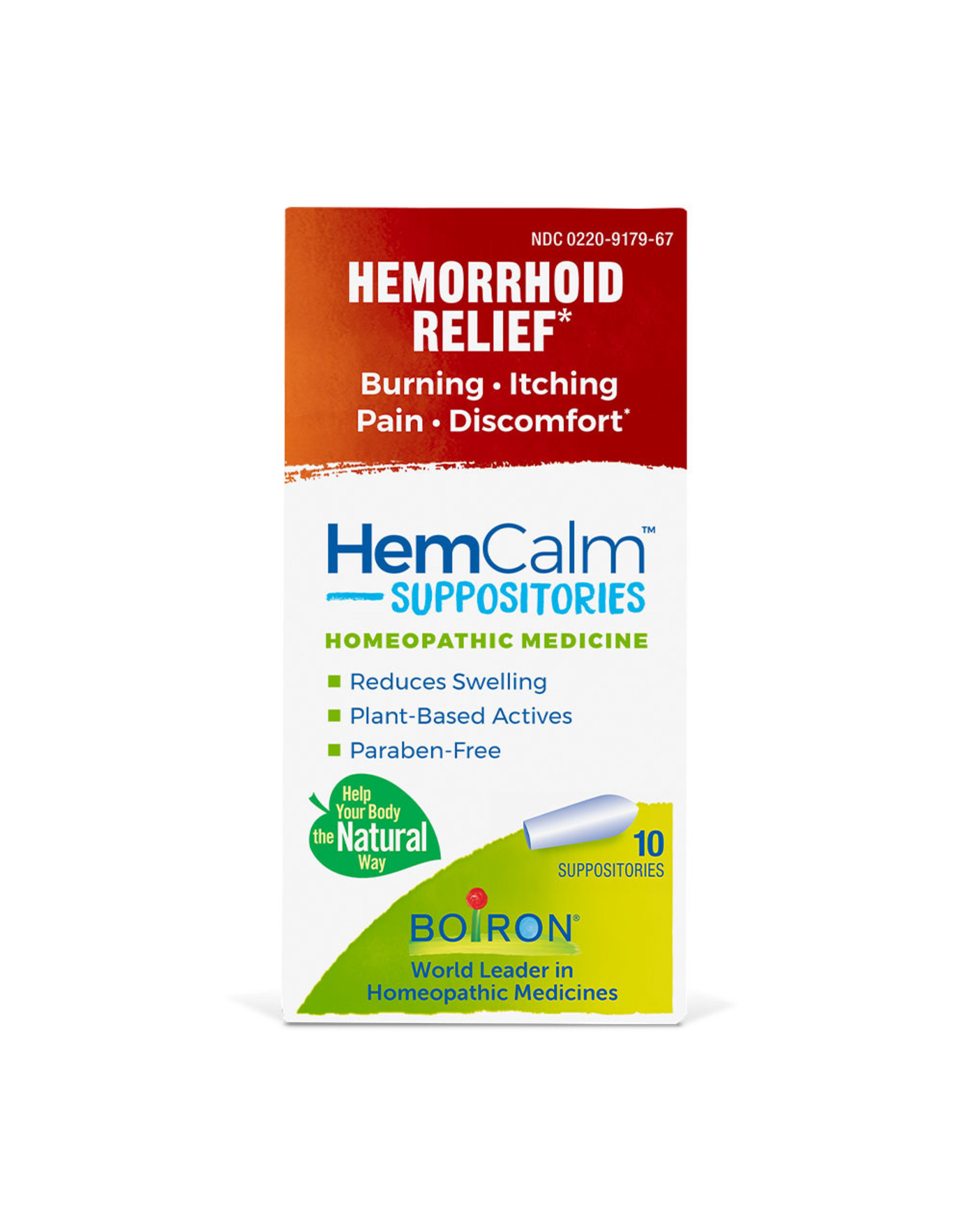 HemCalm Suppositories 10 Supp