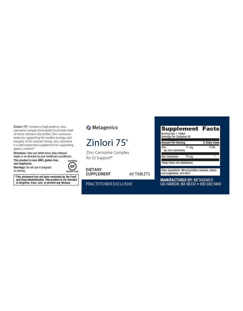 Zinlori 75™ 60 ct