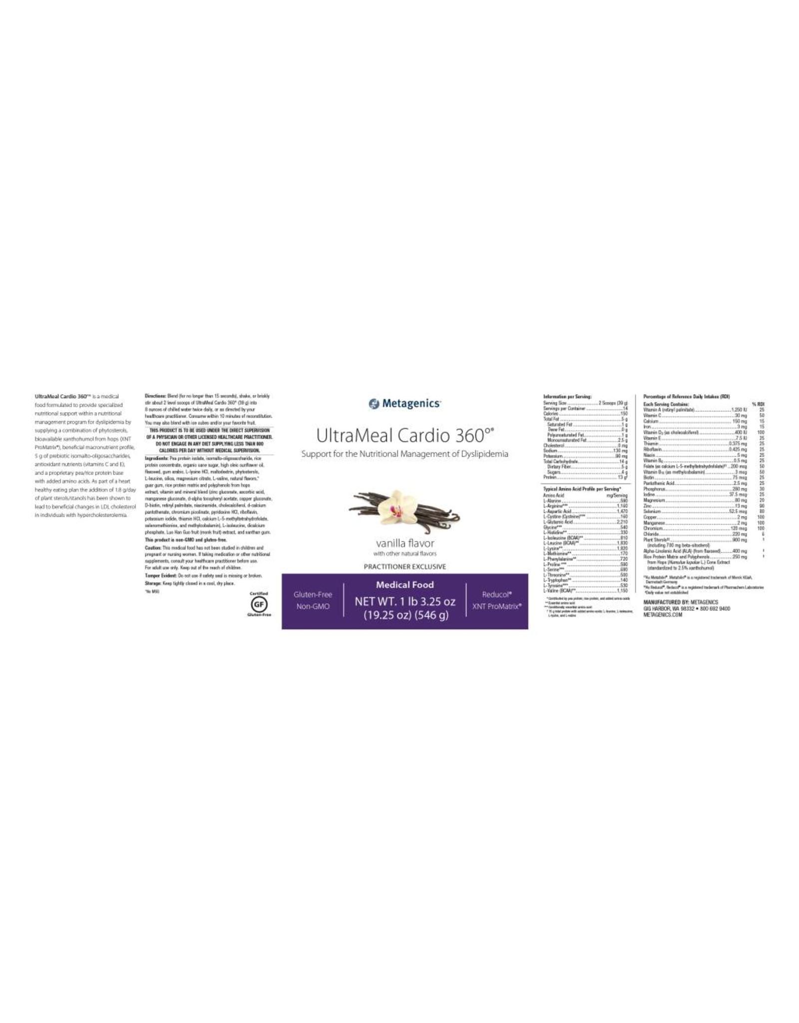 UltraMeal® Cardio 360™