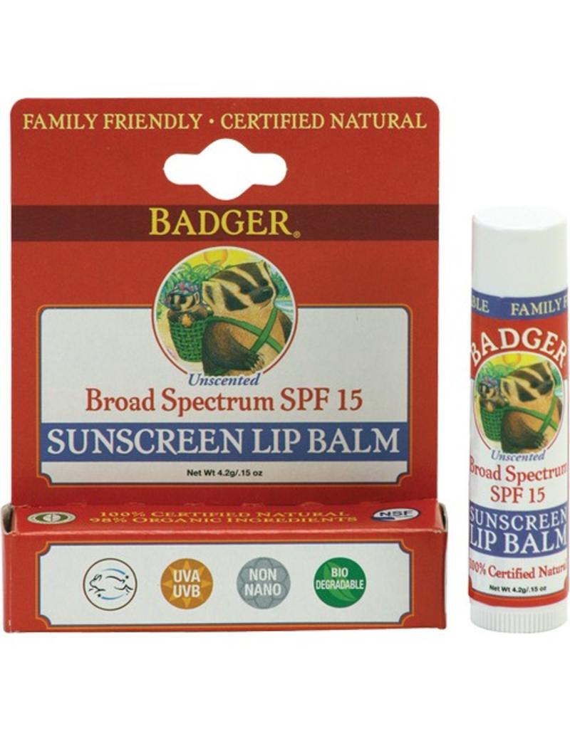 Sunscreen Lip Balm SPF 15