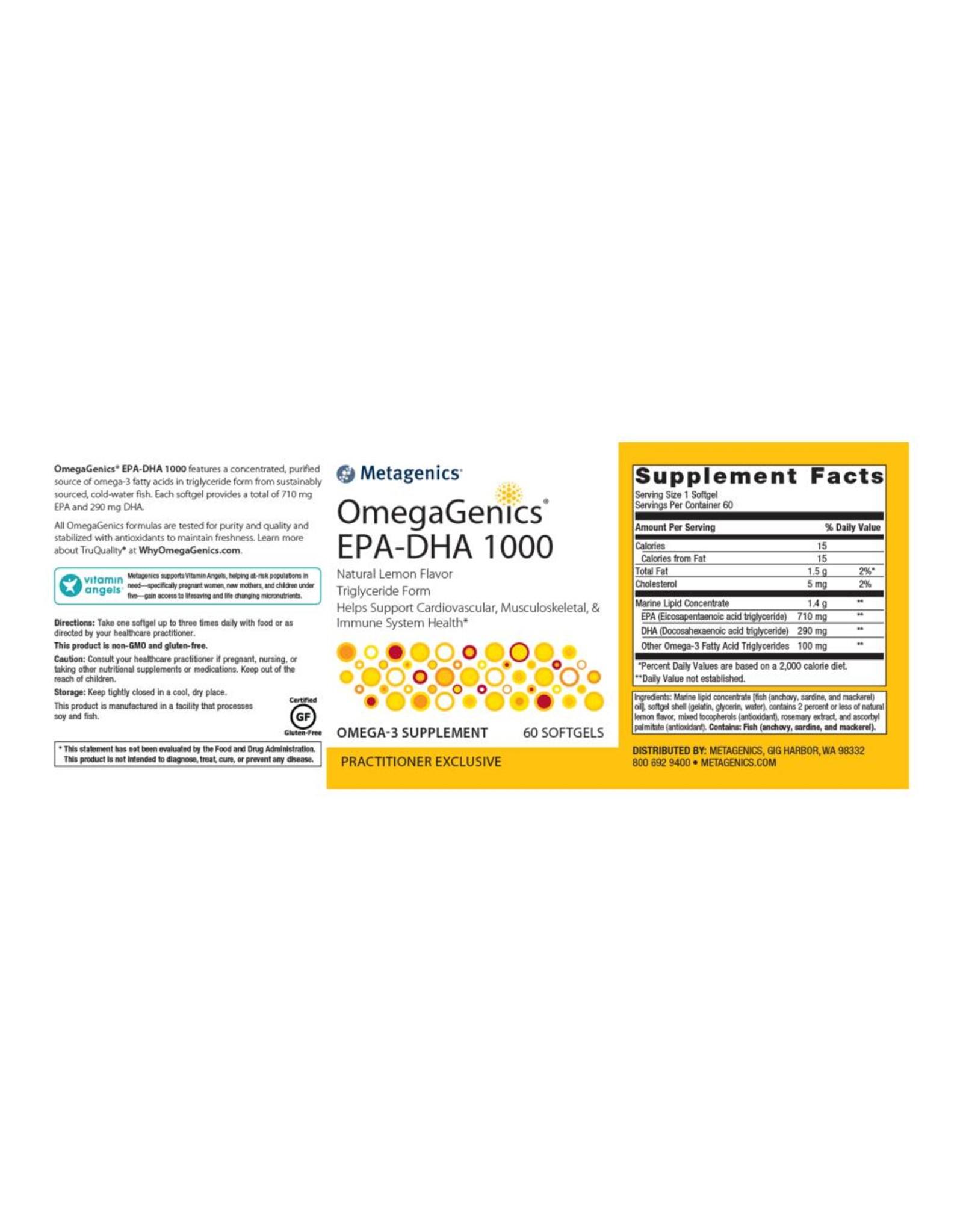 OmegaGenics® EPA-DHA 1000 60ct