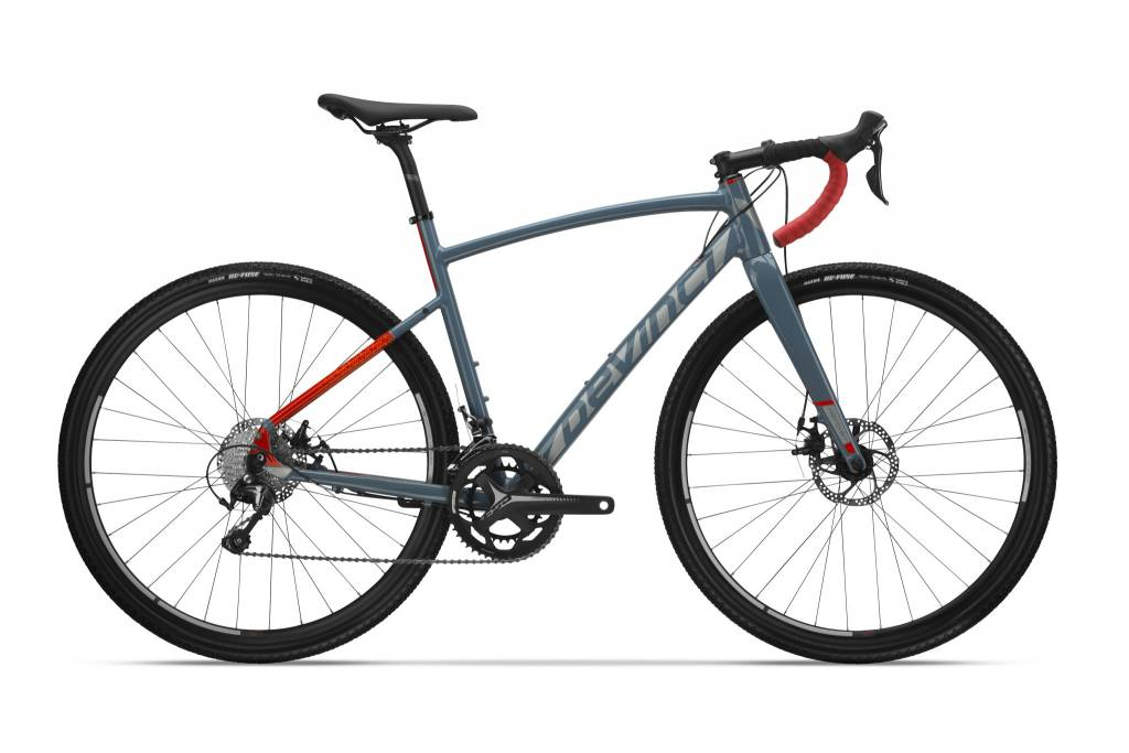 Devinci, Hatchet Tiagra, Grey/OR, M (2018)