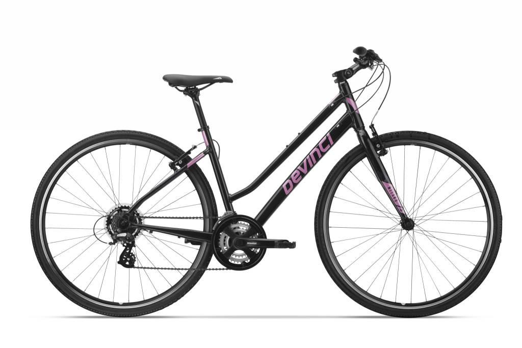 Bike Milano Stepthru WF 40cm Black/Pink