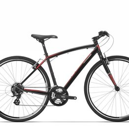 Devinci,  Milano, Black/Red, SM (2018)