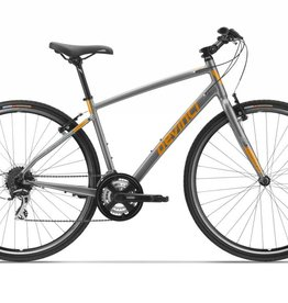 Devinci,  St-Tropez, Silver/Orange, Large (2018)